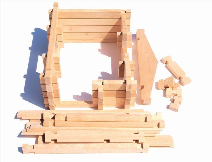 Eco casita de madera camas y literas for Casitas de madera para ninos precios
