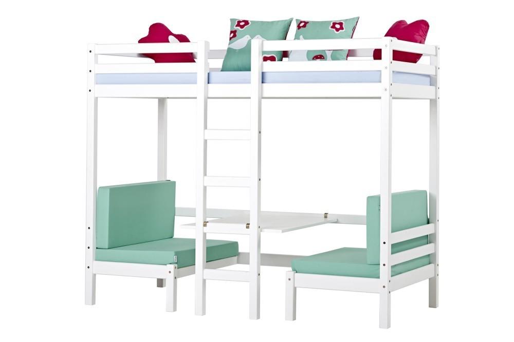 Cama alta jumbo colchones incluidos camas y literas for Cama 80x190