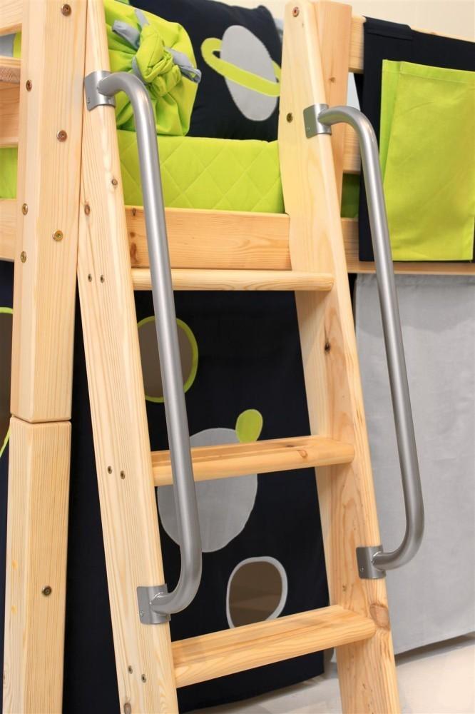 barra metlica de seguridad para escalera