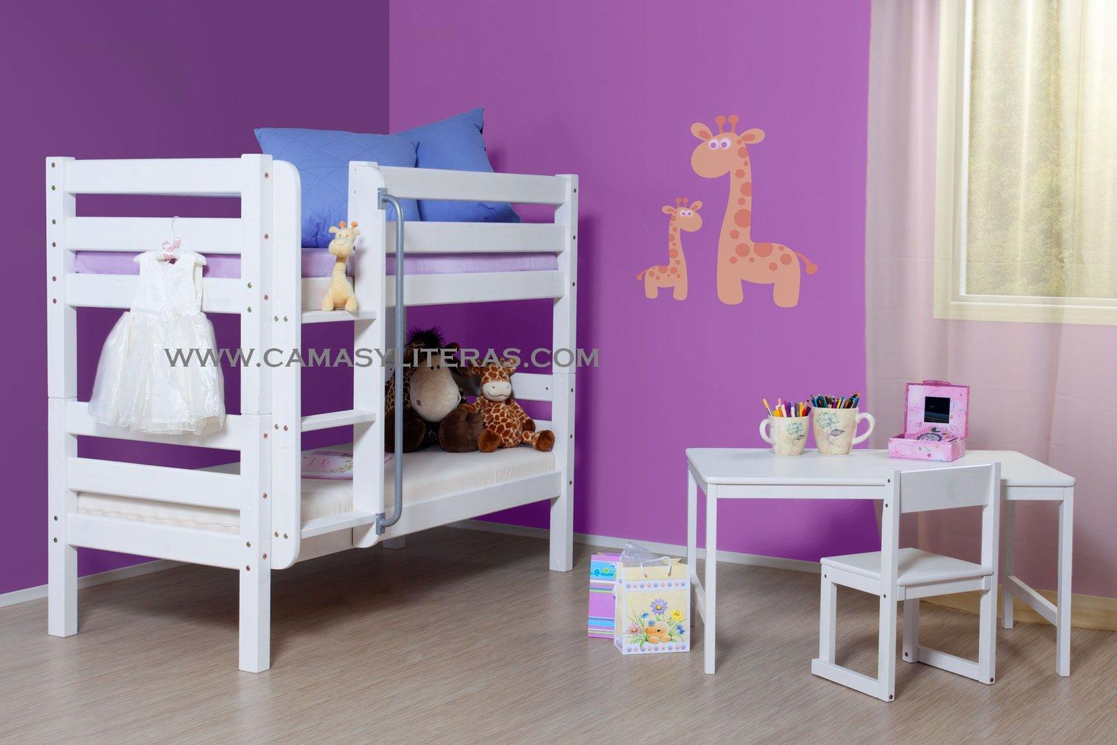 Litera sasha 70 x 160 camas y literas for Camas infantiles baratas
