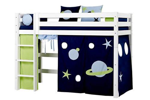 Literas triples literas para ni os literas el l camas altas - Escaleras para camas altas ...