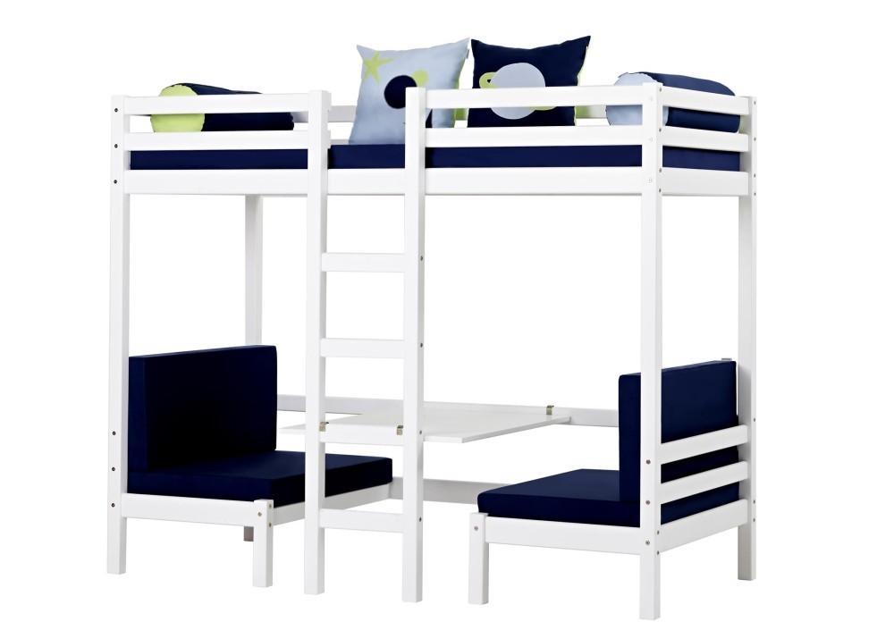 Cama alta jumbo colchones incluidos camas y literas for Camas y colchones