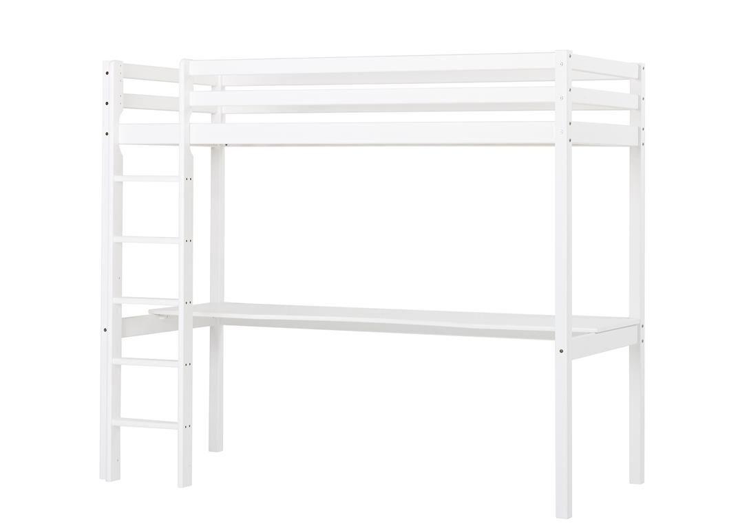 Cama alta kai con escritorio camas y literas - Cama alta con escritorio ...