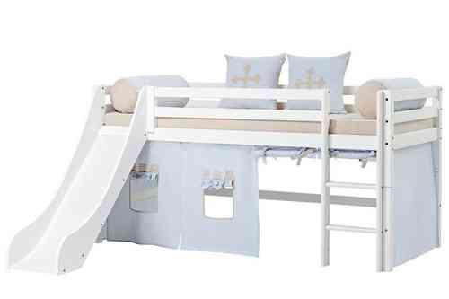 Literas triples literas para ni os literas el l camas altas - Camas infantiles con tobogan ...