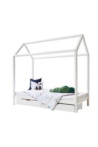 CAMA CASITA 90 x 200 COLOR BLANCO